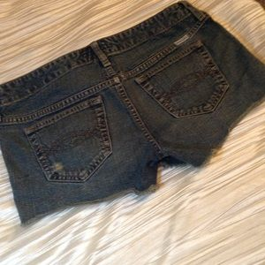 Abercrombie Jean Shorts size 16